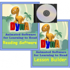 dynA Reading Software + Lesson Builder + DVD